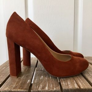Express Suede-look Heels 👠